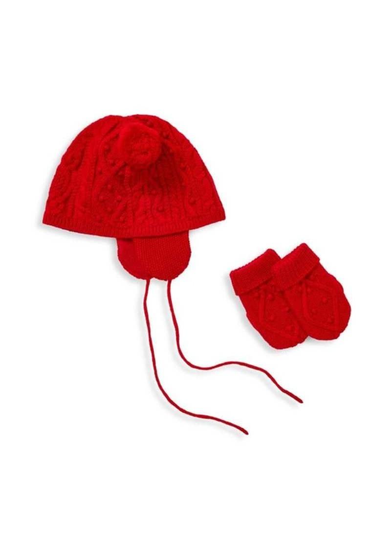 Ralph Lauren Baby s Knit Hat   Mittens Set  c074cedd5aad
