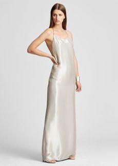 Ralph Lauren Bacall Lamé Gown
