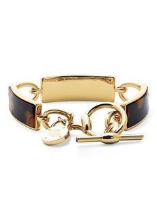 Ralph Lauren Bar Brass Bracelet