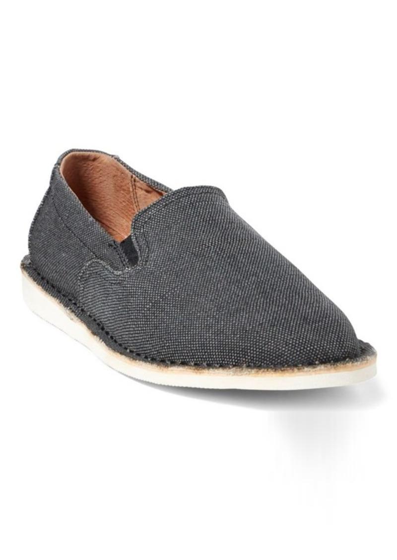 Ralph Lauren Bardene Burlap Slip-On Sneaker
