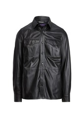 Ralph Lauren Barron Leather Jacket