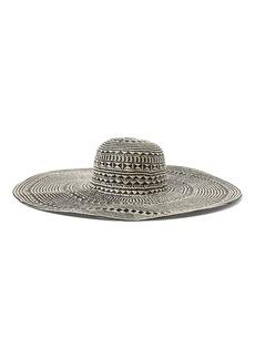 Ralph Lauren Basket-Weave Straw Sun Hat