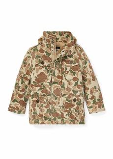 Ralph Lauren Battle Camo-Print Jacket  Size 2-4