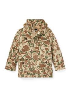 Ralph Lauren Battle Camo-Print Jacket  Size 5-7