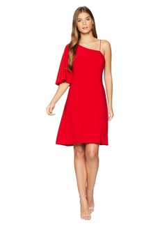 Ralph Lauren Bayonne One Shoulder Day Dress