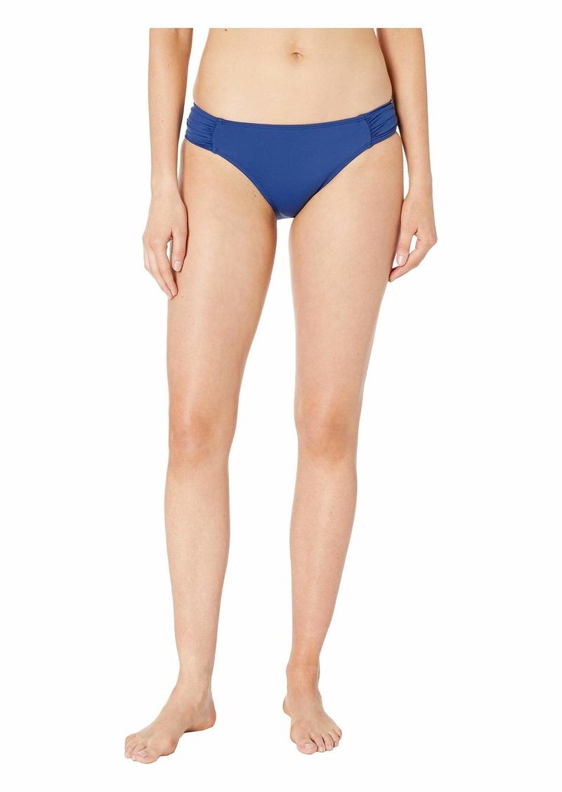 Ralph Lauren Beach Club Solids Shirred Side Tab Hipster Bottom