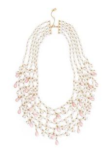 Ralph Lauren Beaded 5-Strand Necklace