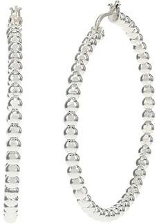 Ralph Lauren Beaded Hoop Earrings