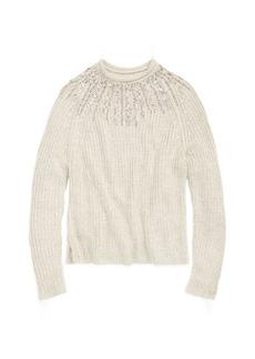 Beaded Rollneck Sweater