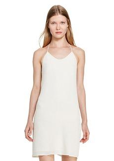 Ralph Lauren Beaded T-Back Slip Dress