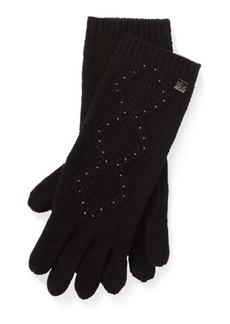Ralph Lauren Beaded Tech Gloves