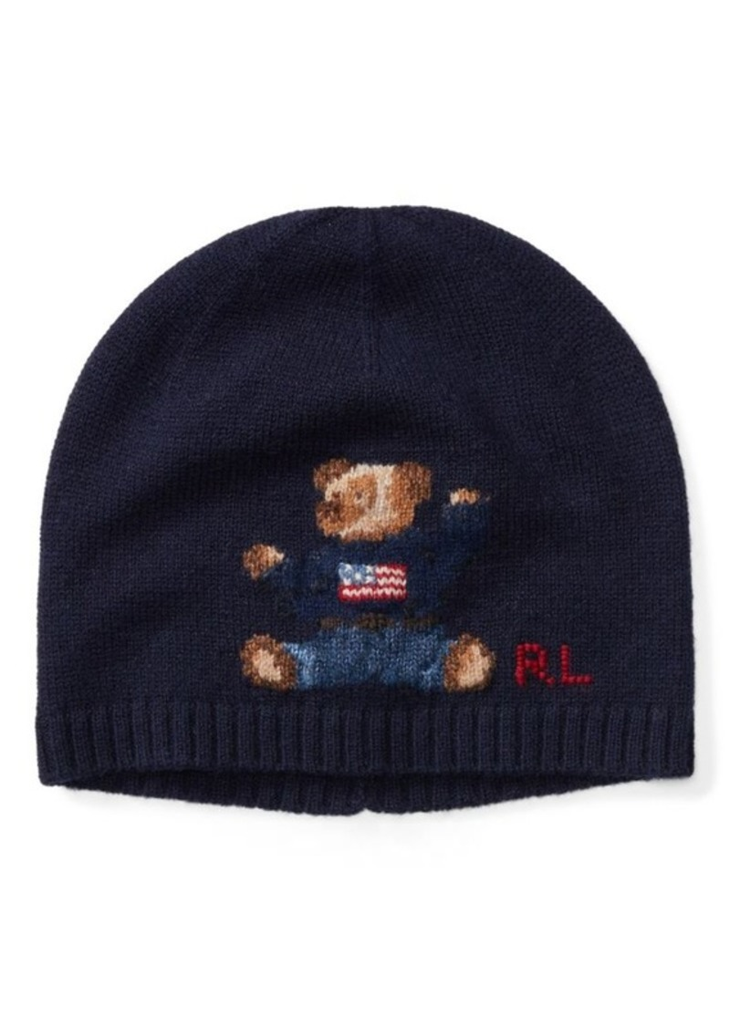 6f1ecf9ac9 Bear Cashmere-Blend Hat