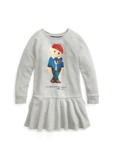 Ralph Lauren Cardigan Bear Terry Dress