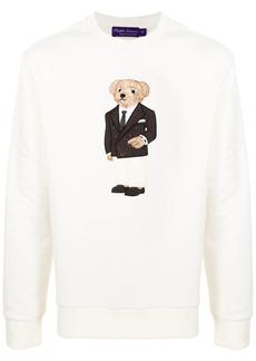 Ralph Lauren bear-embroidered sweatshirt