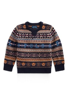 Ralph Lauren Bear Fair Isle Sweater