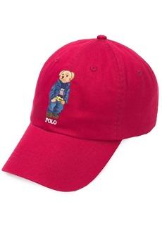 Ralph Lauren bear motif cap