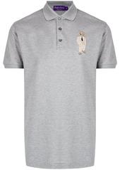 Ralph Lauren bear motif polo shirt