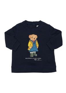 Ralph Lauren Bear Print Cotton Sweatshirt