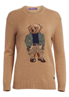 Ralph Lauren Bedford Bear Crewneck Sweater