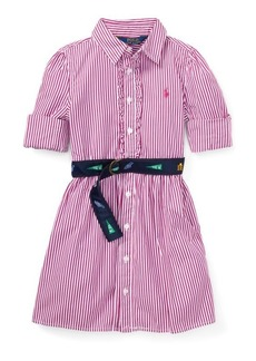 Ralph Lauren Belted Cotton Shirtdress