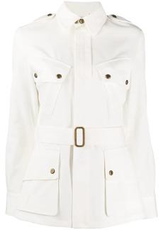 Ralph Lauren belted denim jacket
