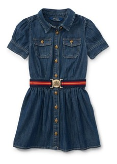Ralph Lauren Belted Denim Shirtdress
