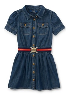 Ralph Lauren Belted Denim Shirtdress