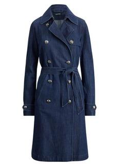 Ralph Lauren Belted Denim Trench Coat