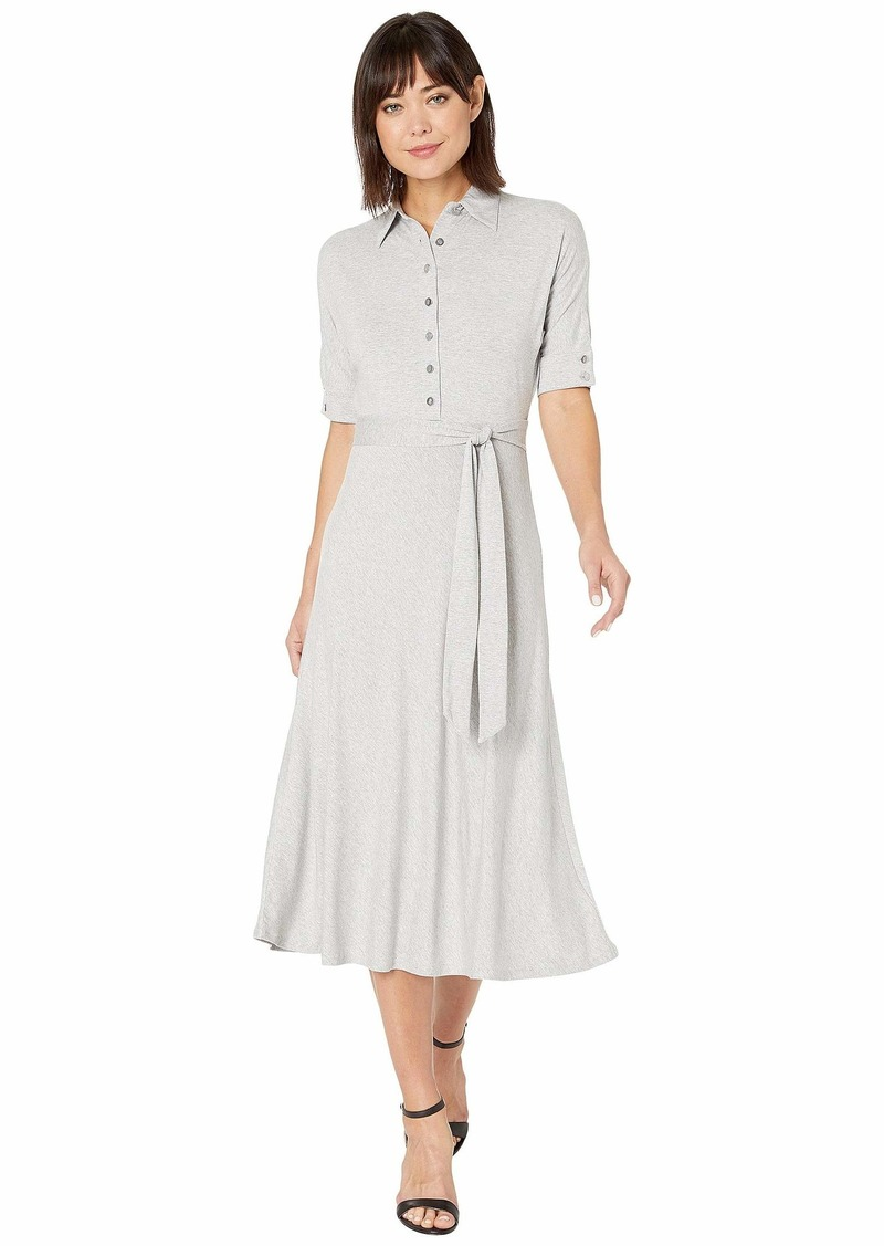 Ralph Lauren Belted Jersey Shirtdress