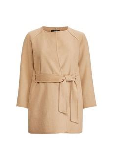 Ralph Lauren Belted Wool-Blend Coat