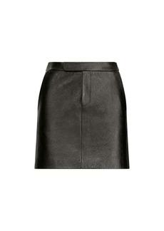 Bennett Leather Miniskirt