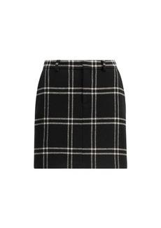 Bennett Windowpane Skirt