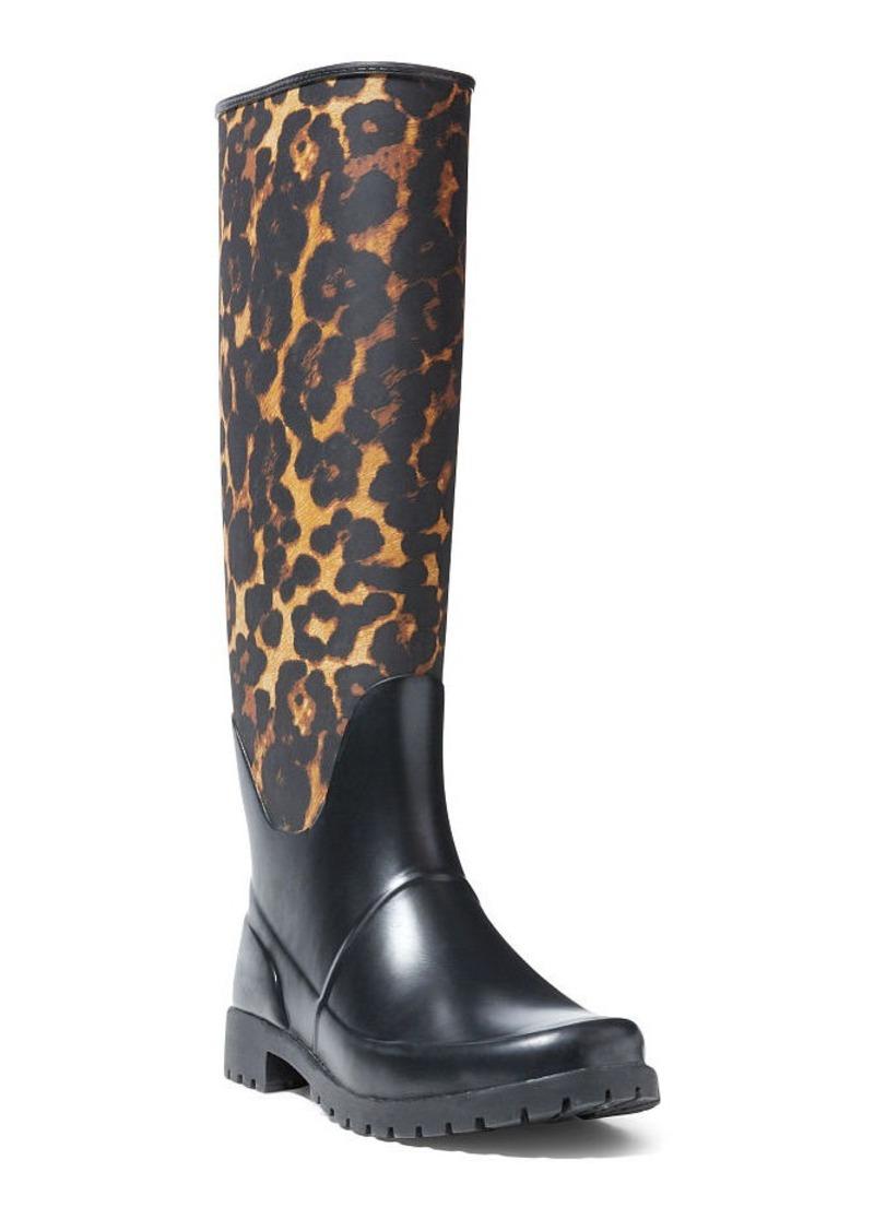 f8cede0fb9da Ralph Lauren Bethania Leopard Rain Boot