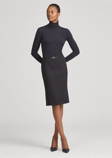 Ralph Lauren Bettie Wool-Silk Skirt