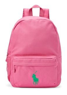 Ralph Lauren Big Pony Canvas Backpack