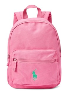 Ralph Lauren Big Pony Canvas Backpack