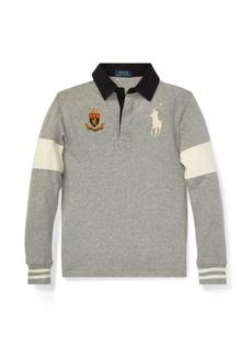 Ralph Lauren Big Pony Cotton Jersey Rugby