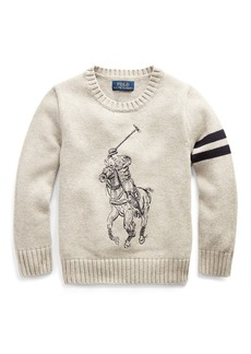 Ralph Lauren Big Pony Cotton Sweater