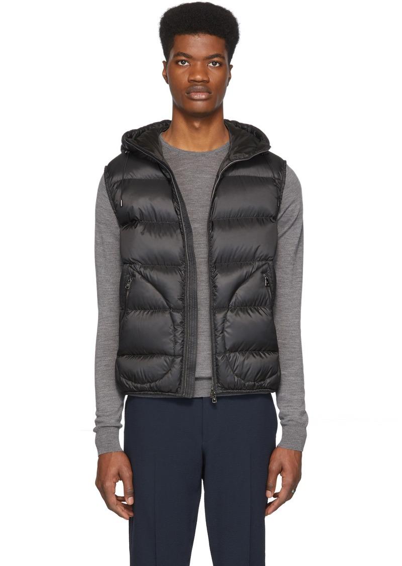 Ralph Lauren Black Down Mackay Vest