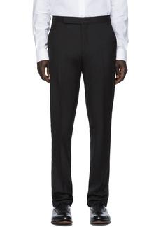 Ralph Lauren Black Wool Gregory Trouser