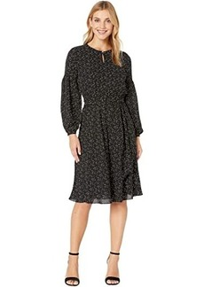 Ralph Lauren Blouson Sleeved Dress