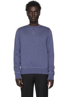Ralph Lauren Blue Fleece Madison Sweatshirt