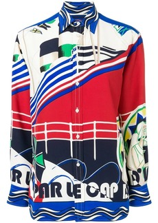 Ralph Lauren ship print shirt
