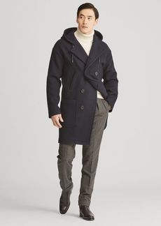 Ralph Lauren Boiled Wool-Cashmere Peacoat