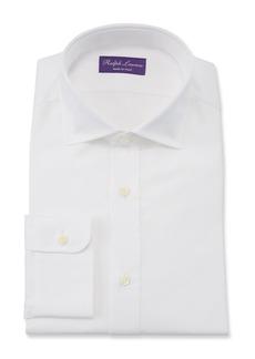 Ralph Lauren Bond Basic Pleated Barrel-Cuff Dress Shirt