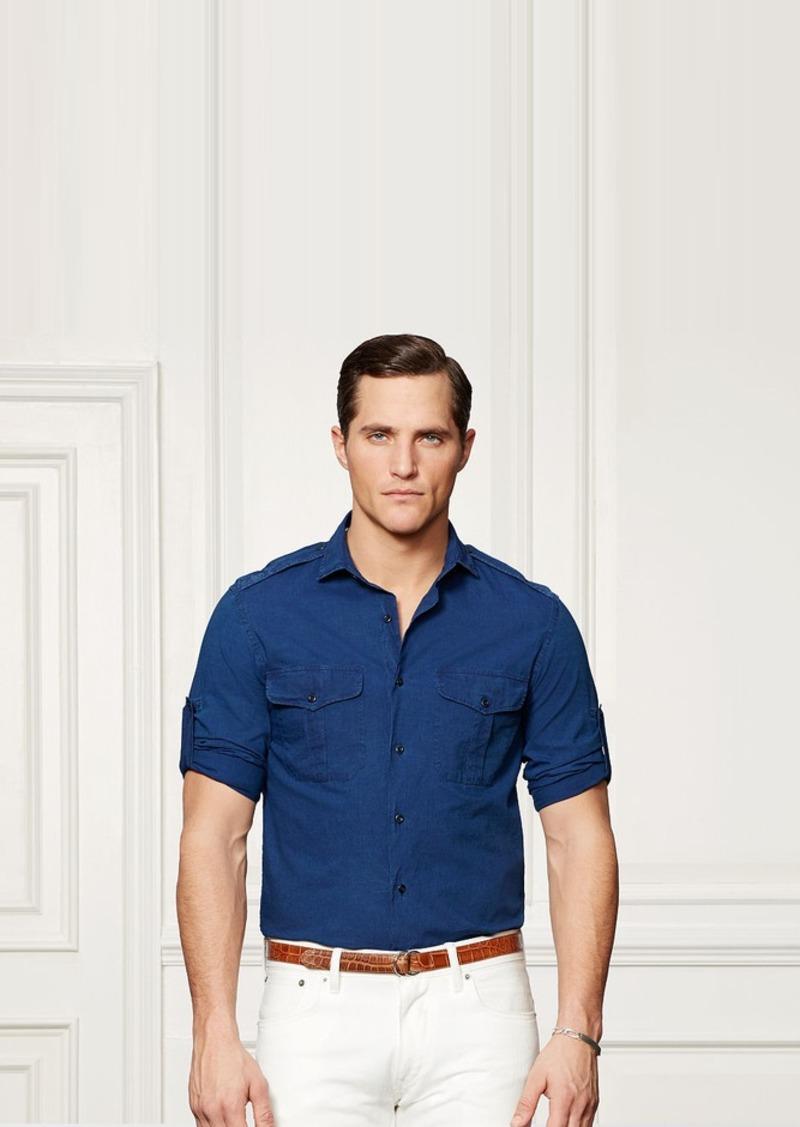 Ralph Lauren Bond Chambray Sport Shirt