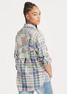 Ralph Lauren Boyfriend Fit Madras Shirt