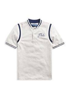 Ralph Lauren Little Boy's & Boy's Basic Baseball Polo