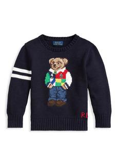 Ralph Lauren Boy's Polo Bear Crewneck Sweater