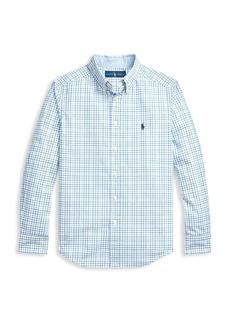 Ralph Lauren Boy's Checker Shirt